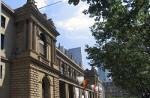 Bild zeigt das Börsengebäude in Frankfurt am Main