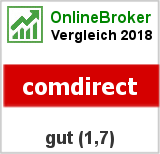 Brokertest 06/2014 Testsiegel comdirect