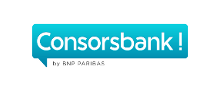 Das Bild zeigt das Logo der Consorsbank