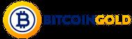 Großes Logo von Bitcoin Gold