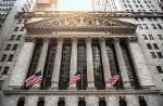 Bild zeigt das Börsengebäude in New York
