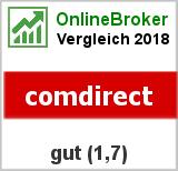 comdirect: Note von comdirect im Test von OnlineBrokerVergleich.org