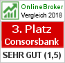 Brokertest 06/2014 Testsiegel Cortal Consors