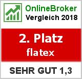 flatex: Note von Flatex im Test von OnlineBrokerVergleich.org
