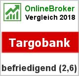 Targobank: Note von der Targobank im Test von OnlineBrokerVergleich.org