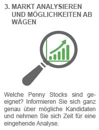 Wie handelt man mit Penny Stocks?